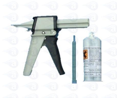 Flexible Clear PU Kit 50ml + Gun EP8-50K