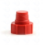 Red threaded tip cartridge cap seal TS3P
