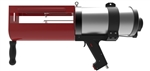 Handheld pneumatic dual cartridge gun 1400ml 3:1 ratio TS471