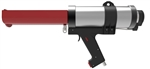 Handheld pneumatic dual cartridge gun 600ml 1:1 ratio TS493 X