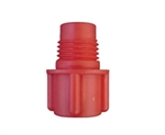 Red threaded tip cartridge cap seal TS6P