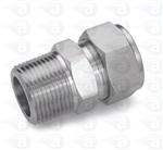 "1/4"" NPT to6mm compression straight TSD1002-06M"