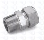 "1/4"" NPT to 3/8"" compression straight TSD1002-38M"