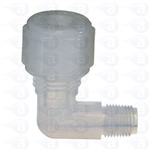 "1/8"" NPT to 1/4"" compression elbow fitting TSD1003-16K"