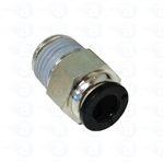 "Air Fitting 1/8"" thread to 1/4"" tube TSD1006-1/8"