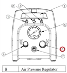 Air Regulator for TS255/ TS355 # TSD500-48