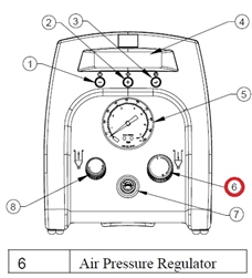 Air Regulator for TS250/ TS350 # TSD500-49