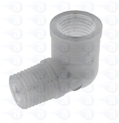 "1/4"" NPT to 1/4"" NPT plastic elbow fitting TSD918-3D"