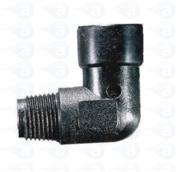 "1/4"" NPT to 1/4"" NPT plastic elbow fitting TSD918-3PP"