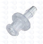 "1/4"" barb to female luer plastic fitting"