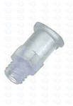 1/4-28 UNF thread to female luer plastic fitting TSD931-23N