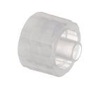 Male luer plug seal plastic fitting TSD931-3