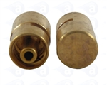 TSD931-3MS Male luer plug seal metal fitting pk/1