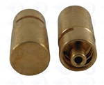 TSD931-3MSL Male luer plug seal metal fitting pk/1