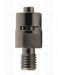 "1/4-28"" to male luer metal fitting TSD931-49BF"