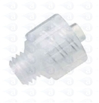 "1/4-28"" UNF to male luer plastic fitting TSD931-49C"