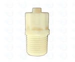 "1/8-27"" UNF to male luer plastic fitting TSD931-54C"