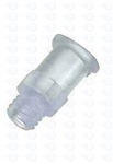 "1/4-28"" NPT thread to female luer plastic fitting TSD931-58"