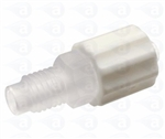 "1/4-28"" UNF to male luer plastic fitting TSD931-60A"