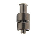 Female to male luer lock metal fitting