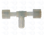 "1/4"" NPT to 2 x 3/8"" compression tee TSD931-90"