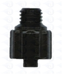 "1/4-28"" UNF to male luer plastic fitting"