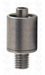 Male luer brass M5 x 6mm TSD931-M56S