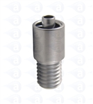 Male luer brass M8x10mm TSD931-M81S