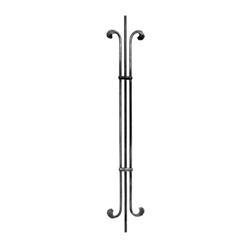 "Picket Rnd Bar W/Bars 3/8"" Dia Matl 6-5/16"" W X 39"