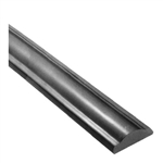 "Rail Solid Smooth Surface 2-9/32"" X 9/16"" 78-3/4"""
