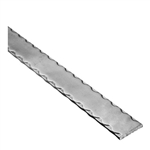 "Rail Hammered Edge 1-9/16 X 5/16"" 10' L"