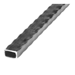 "Tube Hammered Edge 3/4"" Sq .100 Wall 20'L"
