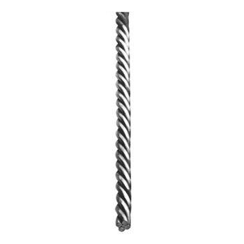"Rope Twist Rnd Bar Rope 3/4"" Dia 118""L"