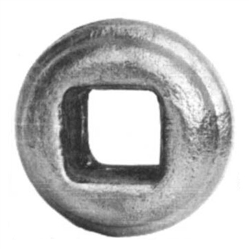 "Bushing Sq 9/16"" Hole 1-9/16"" X 7/8"""
