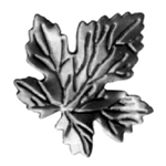 "Leaf Stamped Small Maple .0197"" Matl 2-15/16"" X 2-"