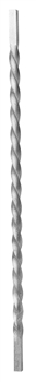 "Picket 5/8"" Aluminum Twisted Solid 39-1/2""H"