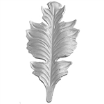 "LEAF FORGED ALUM 4-5/16"" X 9-1/16"""