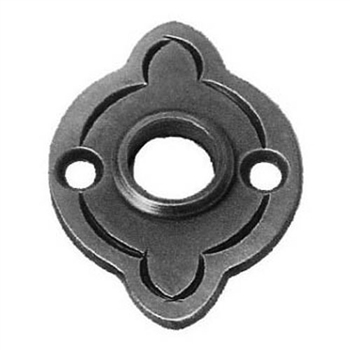 "Rosette For Handle 2-3/32"" X 2-15/32"" 3/32"" Matl"
