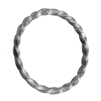 "Ring Twisted 2-1/2"" Dia 3/16"" Matl"