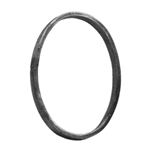 "Ring Oval 1/2 X 1/4"" Matl 4-1/2"" X 6-5/16"""