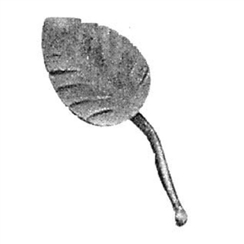 "Leaf 1/8"" Matl 1-1/4"" X 3-1/8"" For Art 604/1"