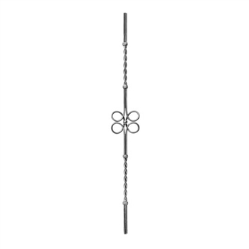 Picket Dual Rod W/Clover Leaf Center 4-15/16 W X 3