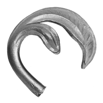 "Leaf Cast Steel 1/2"" Matl 2-3/4"" X 3-9/16"""