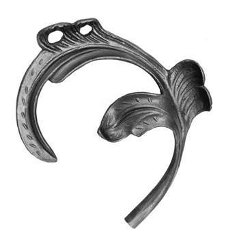 "Leaf Cast Steel 1/2"" Matl 6-5/16"" X 7-1/2"""