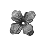 "Flower Forged 3-11/32"" X 3-11/32"" 5/32"" Matl"