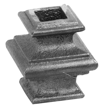 "Cast Iron Bushing 1/2"" Sq. 1-9/16"" X 1-3/4"""