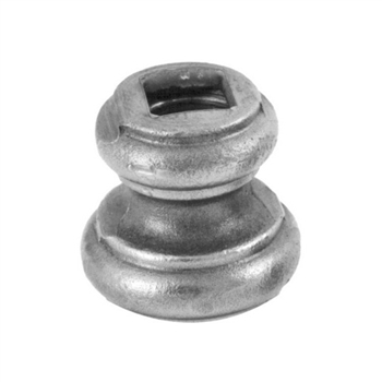 "Cast Iron Bushing 9/16"" Sq Hole 1-3/4"" X 1-11/16"""
