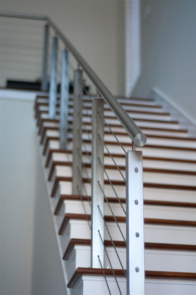 Stainless Steel Square Post Rail System Stainless Steel