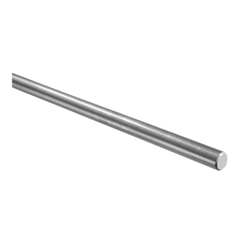 "Stainless Steel Round Bar 3/8"" Dia. x 9' 10"""