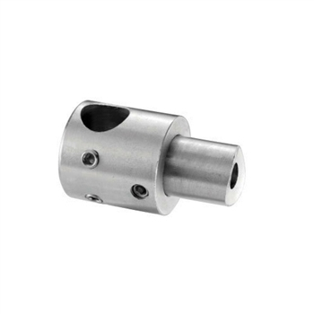 "316 Stainless Steel Bar Holder 1/2"" Dia. Hole for"
